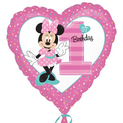 "18"" Minnie Mouse 1st Birthday"